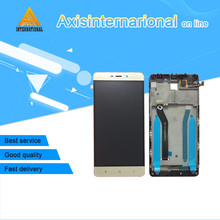 "For 5.0"" Xiaomi Redmi 4 pro redmi 4 prime ROM-32G LCD screen display+touch digitizer with frame  white/black /gold free shipping"