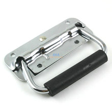 2 Pieces 100 x 40mm Spring Loaded Hardware Puller Boxes Door Chest Handles