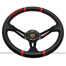 LYJ Auto Steering Wheel Universal Car Drifting Steering Wheel 14 Inch PVC