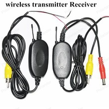 Hot sale! Top-Rated Best QualityParking Car Wireless rear camera reverse Car DVD backup RCA Video transmitter Receiver kit