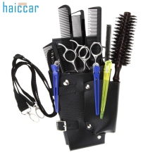 2017 Hairdressing Scissor Holster high quality Bag For Comb Scissors Razor Other Barber Tools Beauty Girl M20X20(China)