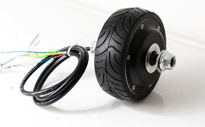 4inchesbrushless hub motor hall sensor ebs enable