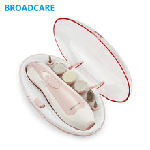 Broadcare Manicure Set Acrylic Nail Kit Manicura Foot Care Easy Pedicure Machine Nail Set Manucure Hand Pedicure Nail Art Tool