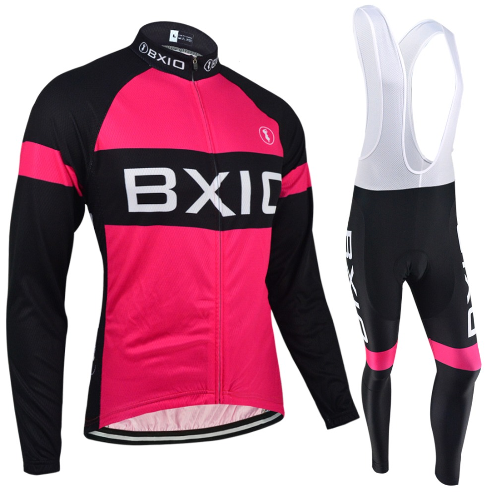 BXIO Winter Cycling Jerseys Women Long Thermal Fleece Bicycle Clothing Seamless Stitching Pro 5D Gel Pad Maillot Ciclismo 135<br><br>Aliexpress