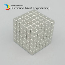 216 pcs N42 Block 3x3x3mm NdFeB Magnet Cube Magic Toy Neodymium Magnets Rare Earth Magnets Permanent(China)
