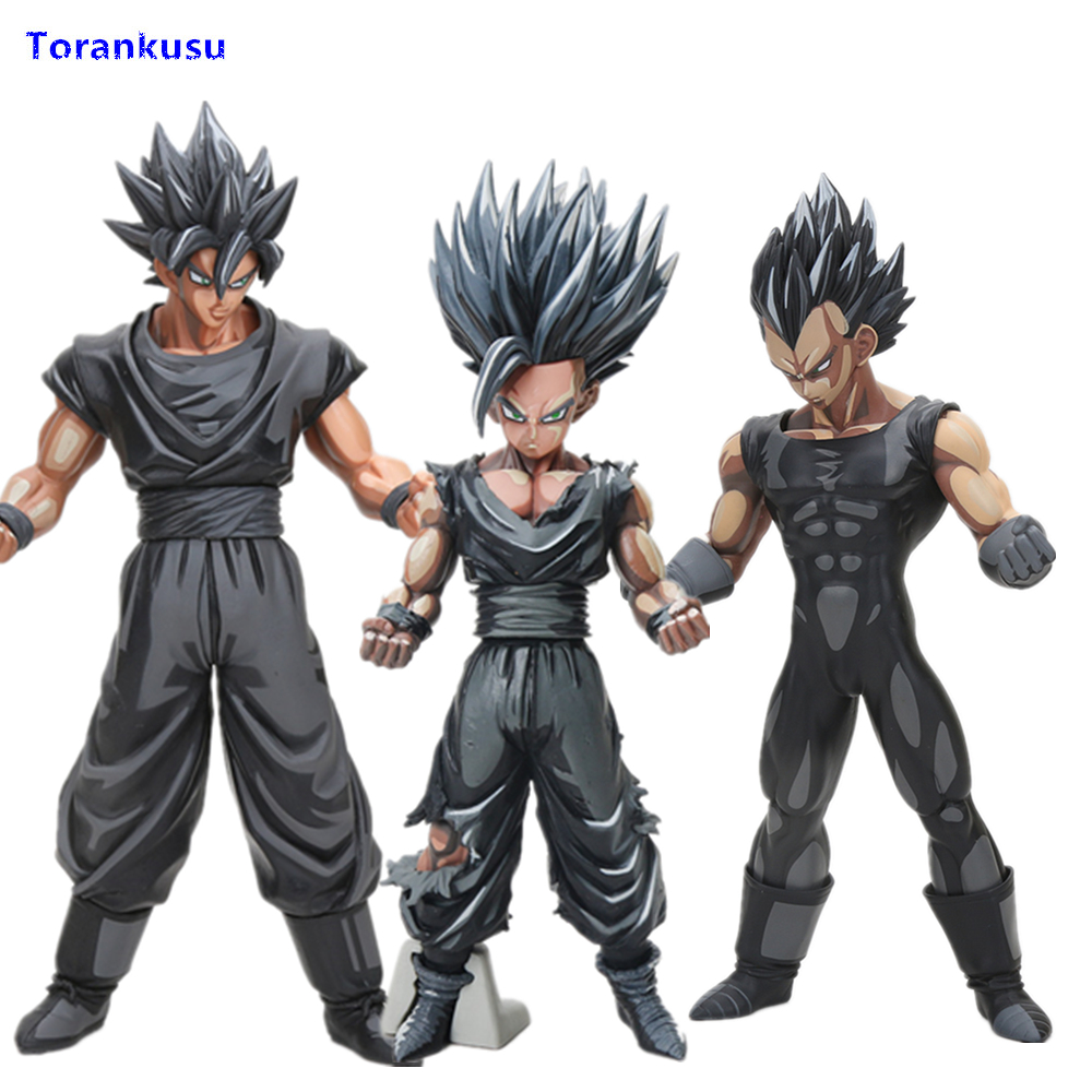 Dragon Ball Z Super Saiyan Son Goku Vegeta Gohan Master Stars Piece Goku Black Chocolate PVC Dragon Ball Action Figure Toys XPC