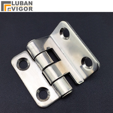CL252 stainless steel hinge Right angle bend High and low voltage cabinet hinge Mechanical equipment hinge, industrial hinge(China)