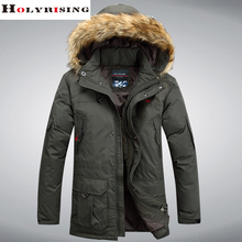 M-4XL men down coat winter coat men down coat jaqueta masculina hooded fur collar warm windbreaker male fashion parka