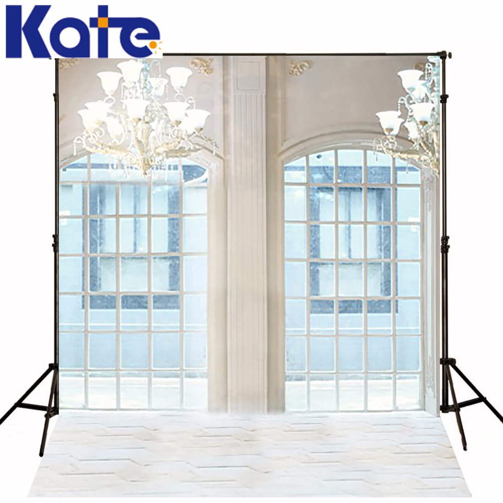 5Feet*6.5Feet Background Glass Doors Chandelier Photography Backdropsthick Cloth Photography Backdrop 3289 Lk<br>