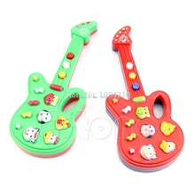 Baby Electronic Guitar Toy Nursery Children Kids Rhyme Developmental Music Toy -B116
