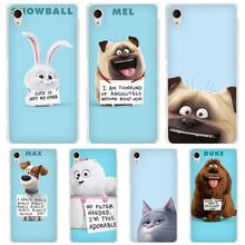 The Secret Life of Pets hard Transparent Case Cover Coque for Sony Xperia z1 z2 z3 z4 z5 m4 aqua m5 XA XZ C4 E4 E5 C5