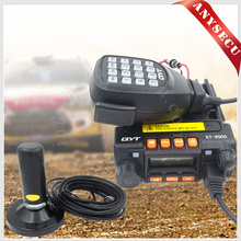 RU warehouse!!! Mini car radio QYT KT-8900 With Antenna HH-N2RS 136-174/400-480MHz dual band mobile transicever KT8900