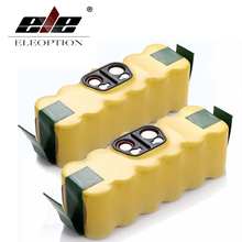 ELEOPTION 2PCS 3500mAh Rechargeable Battery for irobot aspirador roomba Battery 500 510 530 560 570 581 610 650 780 760 770(China)