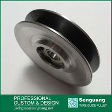 wire drawing aluminium pulleys/Ceramic coated pulleys/ wire guide pulley