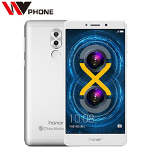 Original Huawei Honor 6X 3GB 32GB 5.5 inch 1920x1080P LTE Mobile Phone Octa Core 3340mAh Dual Rear Camera Fingerprint ID(China)