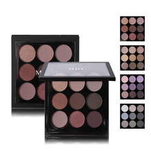 Eye Makeup 9 Color Matte Eyeshadow Palette Set Natural Naked Eye Shadow Pallet Shimmer Powder with Make Up Nude Pigments