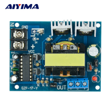 AIYIMA 12V to 0-110-220V micro inverter TL494 100W double 110 v booster circuit board(China)