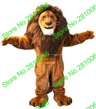 QIANYIDUOO Can be washed with water No deformation EVA Material Helmet Lion king lion Mascot Costumes cartoon Apparel 383