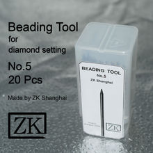 Beading Tools No.5 - 20pcs - Jewellery Tools - ZK Shanghai - Goldsmith Tools
