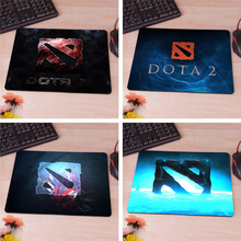 Blue Style Dota2 LOGO Rubber Soft gaming mouse Cool Games black mouse pad 220mmX180mmX2mm&250mmx290mmx2mm
