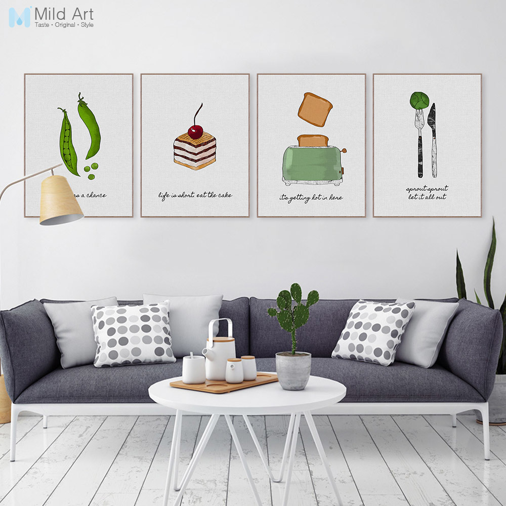 Wall Art Gift for Home Personalised Framed in A3 or A4 Avocado Family Print