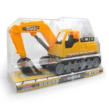 Lovely Children Toys Large Excavator Engineering Cars Model Toy Child Toy Trucks Car-styling Inertial Car Truck(China)