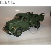 1:25 3D Soviet Truck GAZ-51 Paper Model Second World War Assemble Hand Work Puzzle Game DIY Kids Toy Denki & Lin