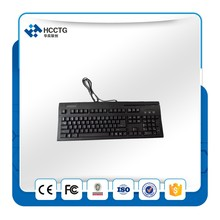 PS/2 interface support PC/SC ISO 7812 1/2/3 tracks IBM standards 104 keys  Multi-functional Keyboard HCC150K