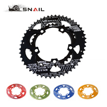 SNAIL 700C Road Bicylcle 110BCD 50/35T Oval Chainwheel Kit Bike 7075-T6 Alloy Ultralight Ellipse Climbing Power Chainring Plate