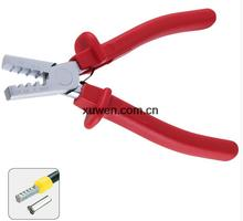 FREE SHIPPING PZ1.5-6 Germany Style Small Crimping Plier For Cable End Sleeves Special Tool Steel(China)