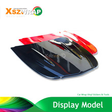 30*26cm Metal Car Hood Display Model For Car Wrap Film Plasti Dip Paint Water Transfer Film Model Without Painted(China)