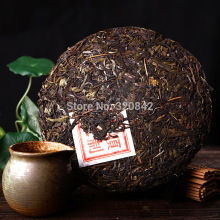Yunnan raw Puer tea 357g pu'er tea cake shen puerh wholesale the chinese green pu er tea health care food