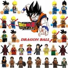 Single Sale Dragon Ball Figure Z Son Goku Vegeta Master Roshi Krillin Set Legoing Figures Building Block Model Toys for Children(China)