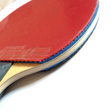 Recommend DIY table tennis racket completed RAZER OFF+ blade and KOKUTAKU rubber(Red and Black) pasted good performance