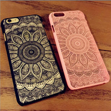 Newest Luxury Mandala China Style Sun Flower Pattern for Apple 5 5S 6 6S 6Plus 6sPlus 7 7 Plus Phone Cases Phone Back Cover
