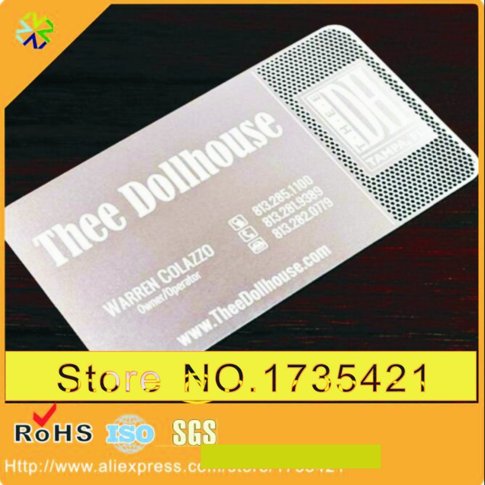 Metal Business Cards China Reviews - Online Shopping Metal Business ...