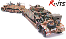 "RealTS Tamiya 35246 German ""FAMO"" & Tank Transport - 1/35 Model Kit"