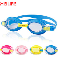 HD Anti-Fog Waterproof Kids Swimming Goggles Colorful Child Adjustable Eyewear Swimming Glasses For Children Boys Girls