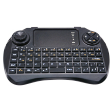 2.4Ghz Wireless keyboard with Touchpad DPI adjustable and air mouse remote control High Quality
