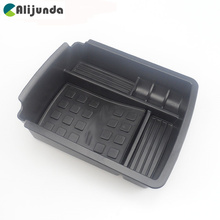 Central Armrest Storage Box Pallet Container Holder Tray Car Organizer for VW Volkswagen Golf 7 MK7 VII Car Styling