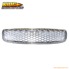 For 1999-2006 Audi TT Chrome Front Upper Mesh Hood Grille USA Domestic Free Shipping