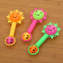 2017 random  20pcs/set Super cute baby rattles children's early teaching appliance rattle training baby's hearing baby toy rattl