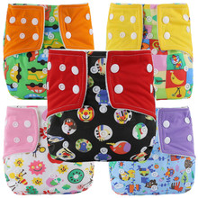 Washable Cloth Baby Diapers Reusable Baby Nappies Waterproof  Infant  Ajustable Nappies Diapers Pocket Winter Summer Style