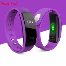 Buy Smartch QS80 Heart Rate Monitor Smart Band Blood Pressure Monitor Smart Wristband Fitness Tracker Smart Bracelet IOS Android Sma for $14.91 in AliExpress store