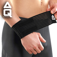 Aq wrist wrap support lengthen basketball hip-hop badminton wrist length apologetics medical sports bandage