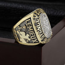 1995 New Jersey Devils NHL Hockey Stanely Cup Championship Ring 10-13 size with cherry wooden case as a gift(China)