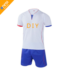 New Professional Customize Adult/kids Breathable Soccer Set Soccer Jerseys Uniforms Children Football Kit Shirt Tracksuit(China)