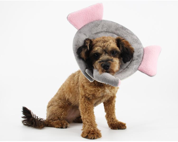 Satın Al Yumuşak Pet Anti Bite Tıbbi Yaka Elizabeth Koni Yaka Pet