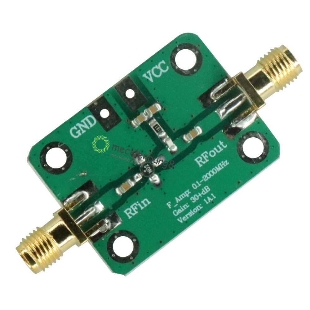Ultra Low Noise Amplifier 10-6000 MHz RF LNA *40 dB* Gain; 0.8 dB Noise Figure