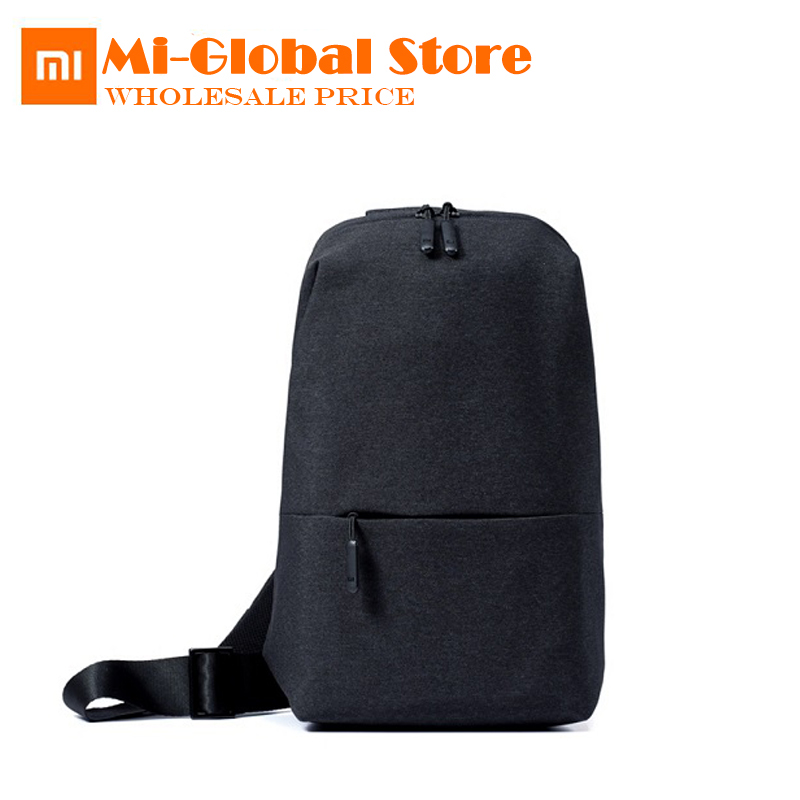 original Xiaomi chest pack 4L capacity Backpack urban leisure Shoulder Type Unisex camera DVD phones Travel bag